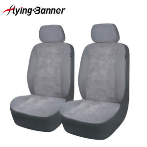 Corduroy-Car-Seat-Covers-protectors-front-pair-ashable-SUV-low-bucket
