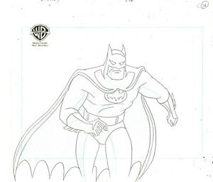 Batman The Animated Series Original Production Drawing Batman- Baby Doll