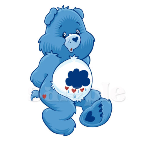 CARE BEAR IRON ON TRANSFER #2