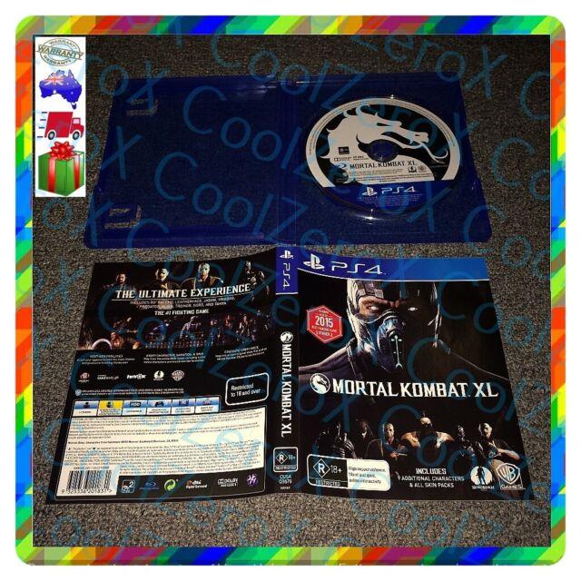 Mortal Kombat XL PS4 NetherRealm Studios WB Games Sony Playstation 4