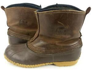Sorel Cheyanne Brown Leather Waterproof
