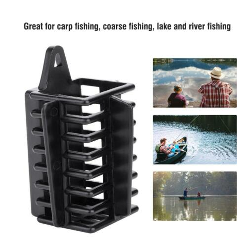 Carp Fishing Cage Feeder Bait Trap Lure Lead Sinkers River Lakes 30g 70g GG