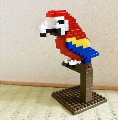 DAISO PETIT BLOCK Mini Block Wild Animals Series Owl NEW F//S Safari