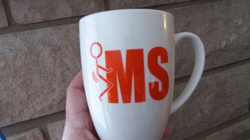 F*ck MS Multiple Sclerosis 5-PK Mini/'s Funny Decal Sticker For Mugs Tumbler 0483