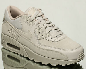 Details about Nike Air Max 90 Premium men lifestyle sneakers NEW light bone string 700155 013