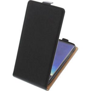 Sac-pour-Cubot-R11-Flipstyle-Etui-Cellulaire-Etui-Coquille-Flip-Coque-Noir