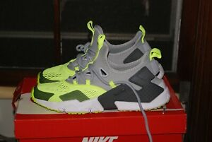 outlet online buy cheap factory outlet Details about Mens Nike Air Huarache Drift BR Wolf Grey Vold Dark White Sz  9 or 10