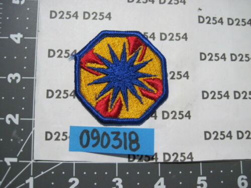 US Army color patch 13th CORPS SUPPORT COMMAND  SUPCOM m//e FREE SHIP