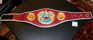 Floyd-Mayweather-Jr-Autographed-Signed-WBO-Boxing-Belt-Beckett-Witnessed-PSA-JSA