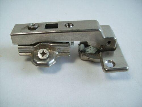 1 Stück topfband Hettich Scharnier Blindseite Clip Schranktür mit Kreuzplatte D5