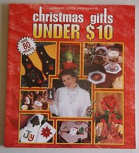 Christmas Gifts under $10 book crafts holiday leisure arts softcover