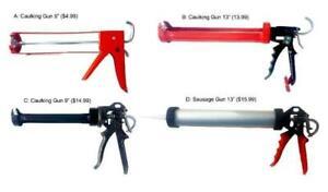 Caulking Gun and Sausage Gun Mississauga / Peel Region Toronto (GTA) Preview