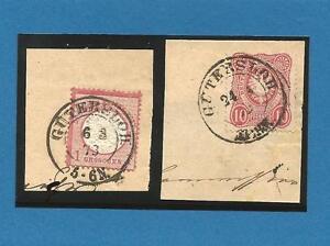 Pr-Vor-GUTERSLOH-6-3-73-24-1-75-je-K2-auf-2-gr-Kabinett-Briefstuecken-m-DR