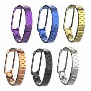For-Xiaomi-Mi-Band-4-Metal-Smart-Wrist-Bracelet-Stainless-Steel-Watch-Strap-YO