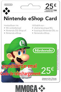 Nintendo Eshop Karte Code.Details Sur 25 Nintendo Eshop Carte 25 Eur 3ds Wii U Switch Compte Francais Fr Eu