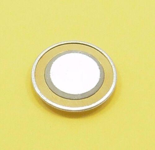 15 mm Transducteur Cuivre Aluminium passif PIEZO SONDEUR Capteur disque À faire soi-même Buzzer