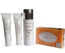 Dr. Alvin Anti Wrinkle Placenta Set (Plant)  Skin Bleaching Set After Kojic Set