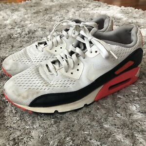 Details about Nike Air Max 90 EM Engineer Mesh White Black Infrared 554719-110 Men's US 11.5