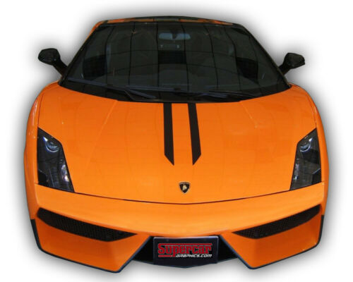 SuperCar Graphics Lamborghini Performante Style Stripes Decals Kit Stickers