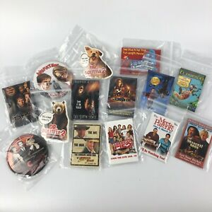 Promo Movie Pins Lot of 14 Indiana Jones Blue's Clues Halloween H2O Sixth Sense