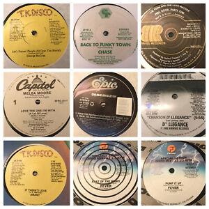 Lot-of-20-Disco-Records-Soul-Funk-Vinyl-DJ-Collection-70s-80s-12-034-Dance-Singles