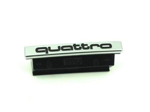 Genuine New AUDI QUATTRO GRILLE BADGE Front Emblem A5 S5 2009-2011 Convertible