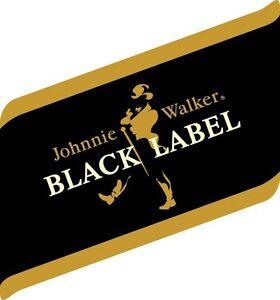 Johnnie Walker Black Label Sticker Decal Different Sizes
