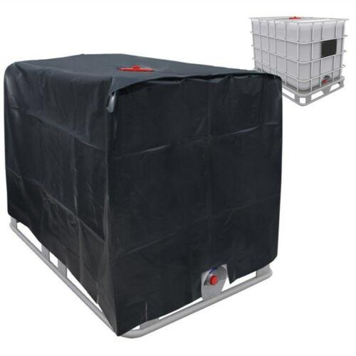 Housse Protection Couvercle Container IBC Bâche Réservoir d/'eau de Pluie 1000 L