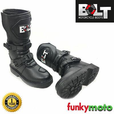 SCOYCO ADULT MX BOOTS Motorcycle Motorbike Quad ATV Enduro Off Road Dirt Sports Track Racing Motocross Boots