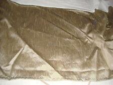 "King size bed skirt shiny metallic green bedding 14"" drop  bedskirt Sonoma olive"