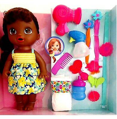 baby alive cute hairstyles african american doll style her