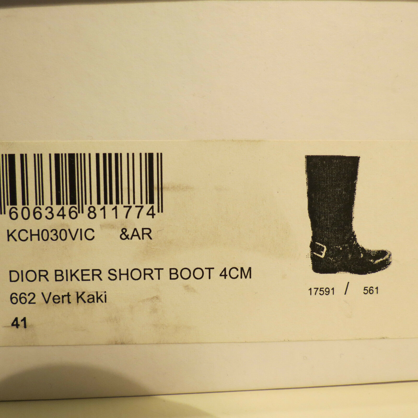 NWB AUTH. CHRISTIAN DIOR BROWN CROC-EMBOSSED LEATHER BOOTS BOOTS BOOTS 41 11 MADE IN ITALY 73a078