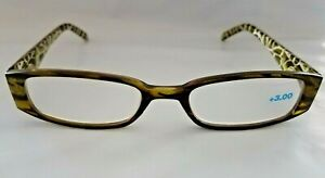 c3e3a7433caf Dr Dean Edell or Zoom Eyeworks Compact Reading Glasses 3.00 Green ...