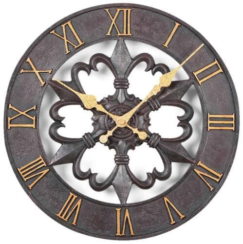 Atlanta 4445-Horloge-Montre de jardin-aussenuhr-ANTIK Optique-montres NEUF