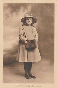 Uraltes Foto Königliche Hoheit Prinzessin Juliana Rarität Holland