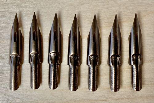 7 Vintage Esterbrook 048 Falcon Dip Pen Nibs
