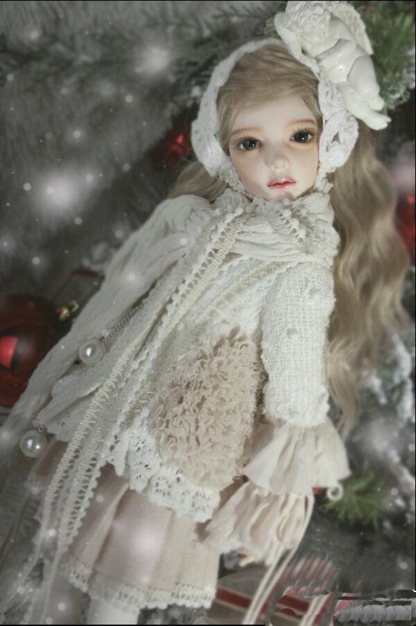 1 4 muñeca de BJD souldoll Pin Libre Ojos + cara maquillaje