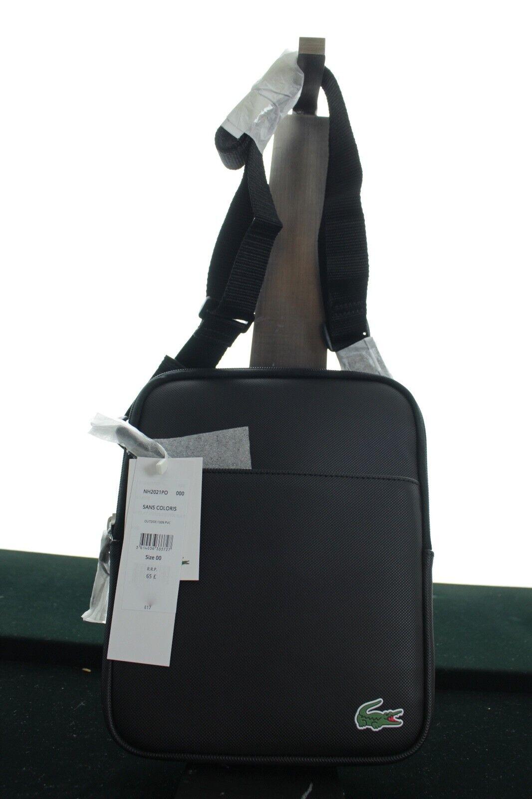 2e1dc7218700 Across Body Bag Black Nh2021po Lacoste Man Unique for sale online