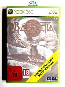Bayonetta-Xbox-360-Videojuego-Retro-Neuf-Scelle-Promo-Scelle-Produit-Nouveau-Eur