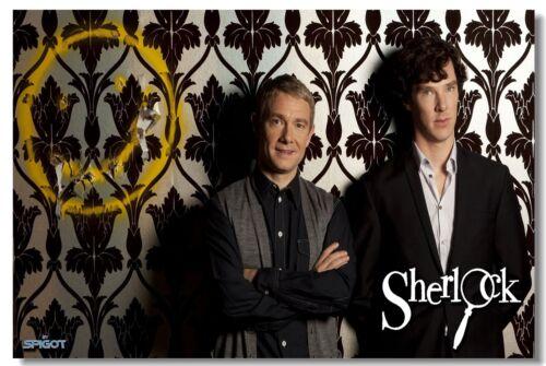 Poster Sherlock Benedict Cumberbatch Actor Star Club Wall Art Print 215