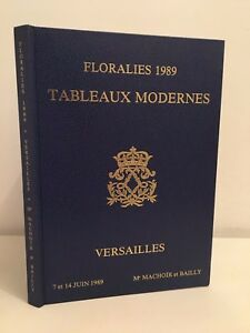 Floralies 1989 Lavagna Moderno Versailles Catalogue Vendita Illustre