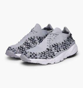 004 tejidos 875797 Nike Footscape Womens tejido gris Force Air HqxxS8wOvB