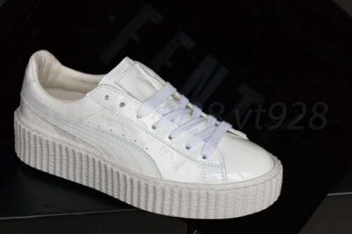 NEW PUMA FENTY RIHANNA CREEPERS GLOSSY WHITE LEATHER MEN/'S SHOES ALL SIZES