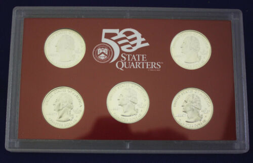 2000-s U.S SILVER Proof Set U.S Mint Made in Red Mint Box with COA