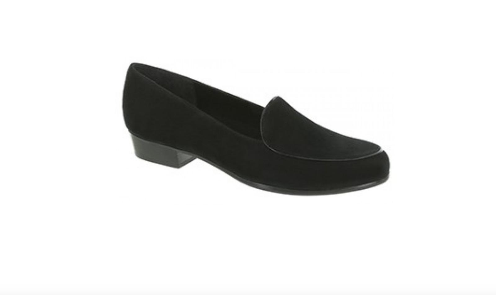 Women Munro American Mallory Black Suede Suede Suede Loafer Size 8 ½  Water Resistant NEW . e649d4