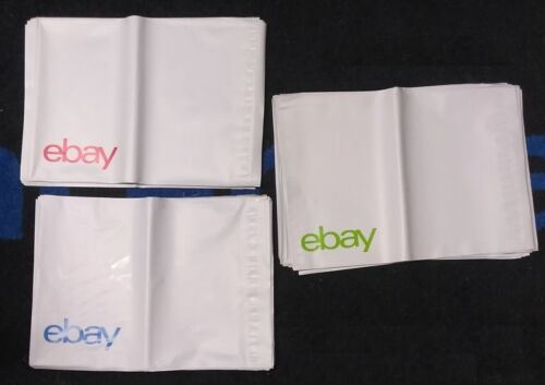 "50   Brand Poly mailers   10/"" X 12.5/"" No Padding"