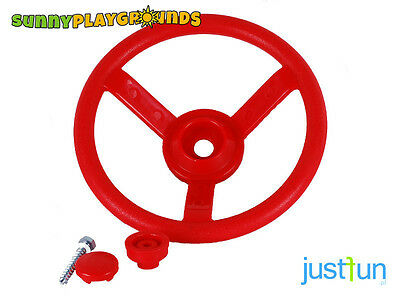PLASTIC STEERING WHEEL RED Swing Seat Set Accessories Playset  Playground