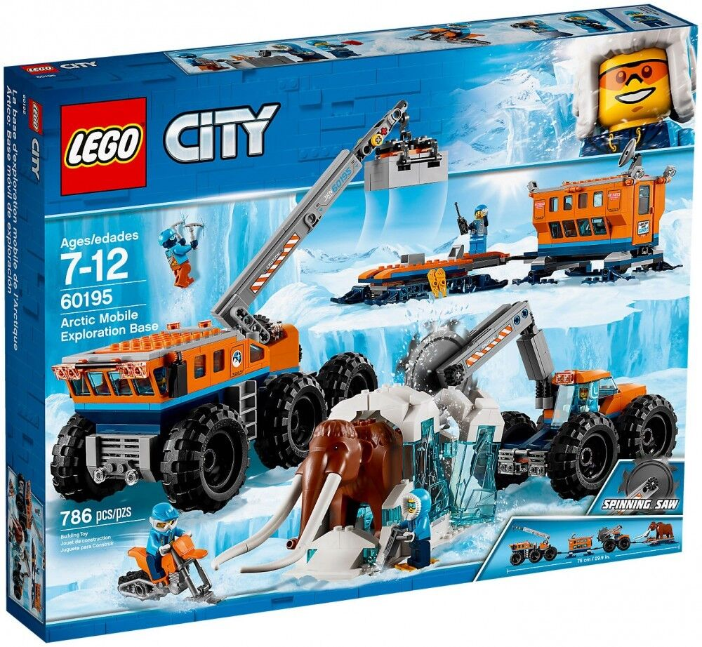 Lego City Arctic Mobile Exploration  Base 60195 786 pieces Brand nouveau Sealed  juste pour toi