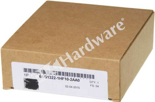 New Sealed Siemens 6AG1322-1HF10-2AA0 E-Stand 4 Pkg 2015 SIPLUS S7-300 Output