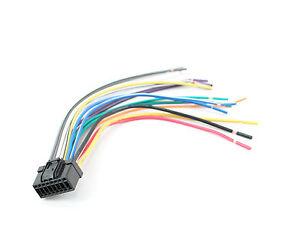 panasonic wiring harness ebay xtenzi 16 pin head unit power wiring harness for panasonic radio  pin head unit power wiring harness